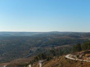 Looking Northwardsfrom Tsfat into Lebanon