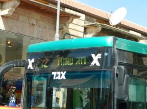 Even the busses joyfully read