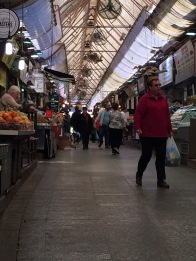 The empty shuk