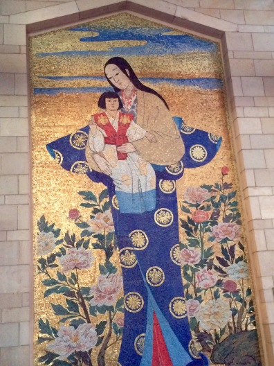 My favorite: Mosaic Japanese Madonna