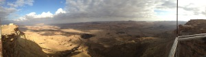 Panorama of the Ramon Crater