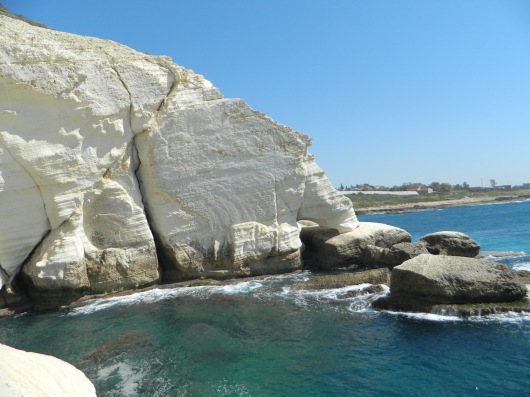 The white cliffs at Rosh HaNiqrah