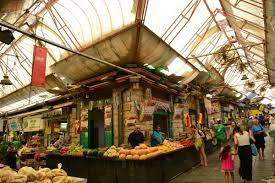 Mechane Yehudi the block wide street vendor market