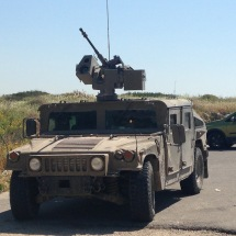 IDF hummer: protection is their game
