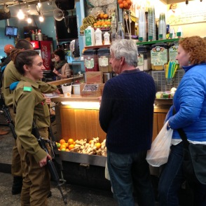 The IDF team scavenger hunt