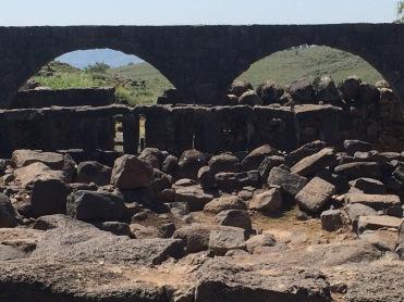 The ruins of ancient Korazin