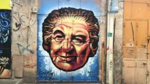 and Golda Meir by Solomon Souza