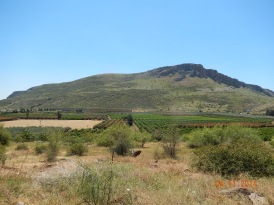 Mount Arbel from the East