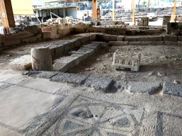 First century synagogue at Magdala