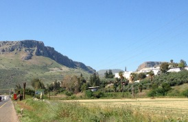 The dramatic Mount Arbel, Northern view
