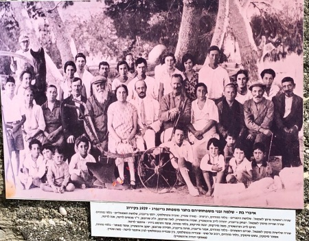 The original settlers of the moshav
